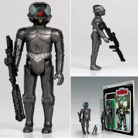 Star Wars 4-LOM Jumbo Kenner Figure